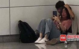 Phát hiện cặp đôi ngồi trong góc trạm tàu điện ngầm, tưởng cảnh yêu đương lãng mạn nhưng hóa ra là vụ uy hiếp nguy hiểm như phim hành động