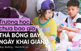 Ở Hà Nội có một ngôi trường không bao giờ thả bóng bay ngày khai giảng, học sinh có hàng loạt dự án biến chai nhựa thành gạch xây trường