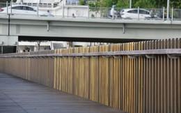 Cầu đi bộ siêu sang ven sông Hương lại vấp 'sự cố'