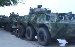 Vì sao Trung Quốc điều thiết giáp đến sát Hong Kong?