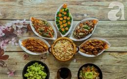 Rằm tháng 7, mẹ đảm Sài Gòn sửa soạn mâm cơm chay ngon đẹp hết cỡ ai nhìn thấy cũng phải xuýt xoa