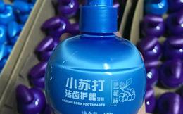 Kem đánh răng Trung Quốc 'thần thánh' siêu tẩy trắng, nhắm mắt dùng liều