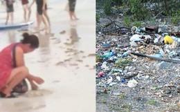 """Trước khi phải đóng cửa vì du khách chôn tã lót xuống cát, bãi biển Boracay đã từng bị Tổng thống Philippines chê """"hôi như hầm phân"""", cấm khai thác 6 tháng liền!"""