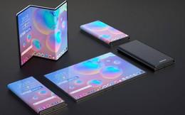 Lộ thiết kế smartphone màn hình gập 3 của Samsung, trong khi Galaxy Fold vẫn đang chờ ngày ra mắt