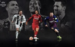 Van Dijk mơ lật đổ Messi, Ronaldo ở FIFA The Best 2019