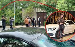 Xe của Ninh Dương Lan Ngọc xuất hiện tại hậu trường quay MV của Chi Dân giữa nghi vấn hẹn hò