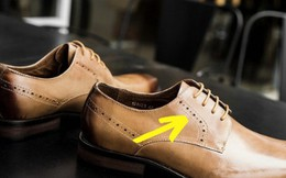 Những điều cực bình thường nhưng hỏi tới là ai cũng ú ớ không lời đáp: Vì sao giày nam thường có lỗ nhỏ?