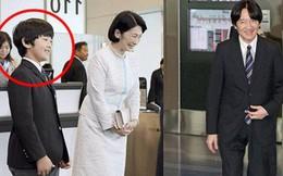 Gia đình Thái tử Nhật Bản đến sân bay khởi hành đến Bhutan, sự xuất hiện của Hoàng tử nhỏ gây chú ý hơn cả