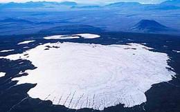 """Hình ảnh về dòng sông băng đầu tiên trên thế giới chính thức """"CHẾT"""" trong thời đại biến đổi khí hậu khiến ai nhìn cũng xót xa"""