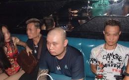 54 người phê ma túy trong bar Hey Club