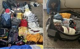 Ước mơ bấy lâu của bao tín đồ du lịch: Nhét đủ 50 chiếc áo quần cùng 9 đôi giày vào 1 túi đỉnh như cô gái này