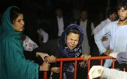 Hiện trường vụ nổ bom ở đám cưới khiến hàng chục người thiệt mạng
