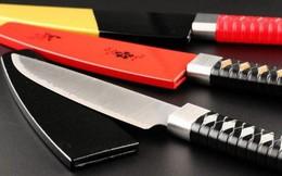 Người Nhật vừa phát minh lại kiếm samurai với kích thước chỉ bằng một con dao làm bếp, độ sắc bén thì khỏi bàn