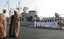 Iran sẵn sàng điều chiến hạm hộ tống tàu chở dầu vừa được thả