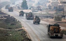 Không quân Syria tấn công đoàn xe Thổ Nhĩ Kỳ làm 13 người thương vong