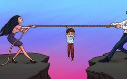 Hôn nhân tan hợp là bình thường, nhưng cha mẹ chớ có hủy hoại cuộc sống của con bằng những sai lầm sau đây