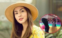 Không còn vô tình, Hà Tăng thoải mái đăng clip khoe gần hết gương mặt đáng yêu của công chúa nhỏ Chloe Nguyễn