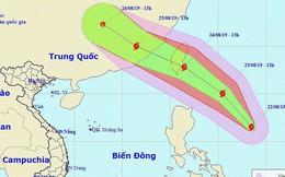 Xuất hiện bão giật cấp 11 gần biển Đông