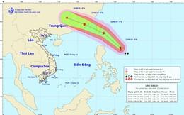 Tin mới nhất về cơn bão Bailu gần Biển Đông