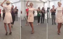 Video: Chiêm ngưỡng điệu nhảy của người phát ngôn Bộ Ngoại giao Nga