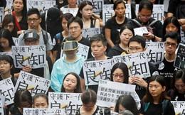 Sinh viên Hong Kong bỏ học 2 tuần đầu tiên năm học mới để tham gia biểu tình