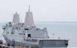 Phớt lờ Trung Quốc, tàu quân sự Mỹ tiếp tục qua eo biển Đài Loan