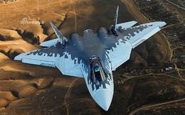 """Sự xuất hiện của tiêm kích Su-57E Nga khiến F-35 Mỹ """"tắt điện"""""""