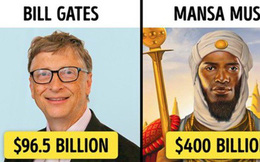 7 đại gia 'siêu to khổng lồ' trong lịch sử nhân loại khiến các tỷ phú ngày nay trở nên thật 'thảm hại' khi sánh cùng