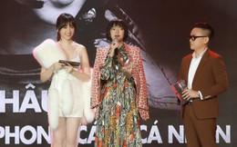 Động thái gây chú ý của Hari Won giữa lúc bị khán giả phản ứng vì vạ miệng đọc sai tên Châu Bùi tại lễ trao giải