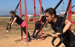 Các nữ tân binh Israel xinh đẹp huấn luyện khắc nghiệt như nam giới