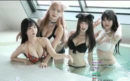 Livestream tắm tập thể khêu gợi, 4 mẫu nữ Hàn Quốc gây phẫn nộ