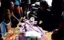 Người nhà mang thi thể thanh niên ở Đắk Nông bị tai nạn giao thông để giữa đường, gây rối trật tự