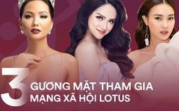 """3 """"Nữ hoàng nhan sắc"""" đầu tiên tham gia Lotus: Không chỉ đẹp mà còn tràn đầy năng lượng tích cực!"""
