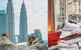 """Top 5 chiếc giường """"thần thánh"""" nổi danh hàng đầu Instagram, dân du lịch """"đánh nhau"""" sứt đầu mẻ trán để được check-in một lần"""