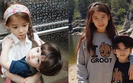 Cặp chị em con lai được mệnh danh 'đẹp nhất Hàn Quốc' giờ đã lớn và có sự khác biệt rất nhiều về khoản nhan sắc