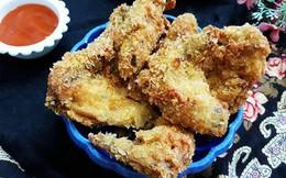 3 bước đơn giản làm món cánh gà chiên xù giòn thơm ngon hết cỡ