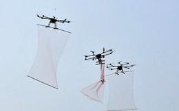 Trung Quốc khoe sát thủ 'người nhện' diệt máy bay không người lái kẻ thù