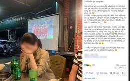 Đang đi ăn ủng hộ ĐT Việt Nam, cô gái chợt thấy trên tivi chiếu cảnh người yêu đang ở SVĐ làm điều không tưởng đến nỗi bật khóc tại chỗ