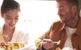 David Beckham khoe clip trò chuyện cùng Angela Baby, nhan sắc của bà xã Huỳnh Hiểu Minh gây chú ý hơn cả