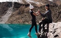 Bất chấp scandal trước, cặp đôi travel blogger tiếp tục mạo hiểm chụp ảnh 'sống ảo', còn 'cà khịa' lại chỉ trích của dân mạng