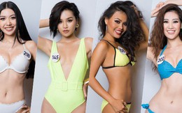 Ngắm trọn body của dàn thí sinh Hoa hậu Hoàn vũ Việt Nam 2019: Chính thức lộ diện những ứng cử viên đáng gờm