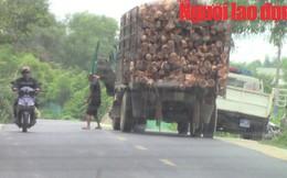 """Vụ tài xế xe quá tải tự nguyện """"trình diện"""": CSGT tỉnh Thừa Thiên - Huế lên tiếng"""