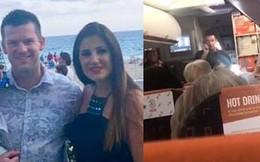 Đưa vợ đi chơi thì chuyến bay bị hoãn vì thiếu phi công, anh chồng xung phong lên lái thay và thân phận thật gây bất ngờ