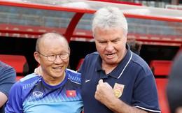 """HLV Park Hang-seo: """"Đối đầu với HLV Guus Hiddink là một trận đấu thú vị"""""""