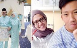 Trước đám cưới chú rể bỗng đau bụng dữ dội, bố mẹ cô dâu liền thay các con tiến vào lễ đường hoàn thành nốt dịp trọng đại