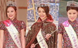 Tân Hoa hậu Hong Kong 2019 vừa đăng quang đã bị chê già nua, nhan sắc thua kém hoàn toàn Á hậu 1