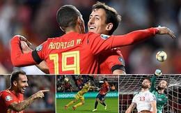 Tây Ban Nha, Ý cùng thắng, tiến thẳng đến Euro 2020