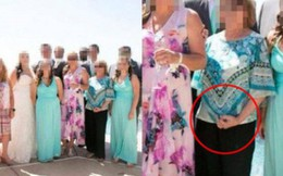 Tươi cười trước ống kính nhưng ngấm ngầm có hành động khiếm nhã với cô dâu, bà mẹ chồng khiến dân tình tức không nói nên lời