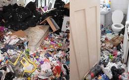 """Cho bà mẹ 4 con thuê nhà trong 5 năm, chủ trọ """"buồn nôn"""" khi nhìn thấy rác chất thành núi trong nhà, còn tốn hàng chục triệu để khắc phục"""