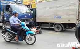 Hai người thương vong sau tiếng la hét 'mất phanh' của tài xế xe tải